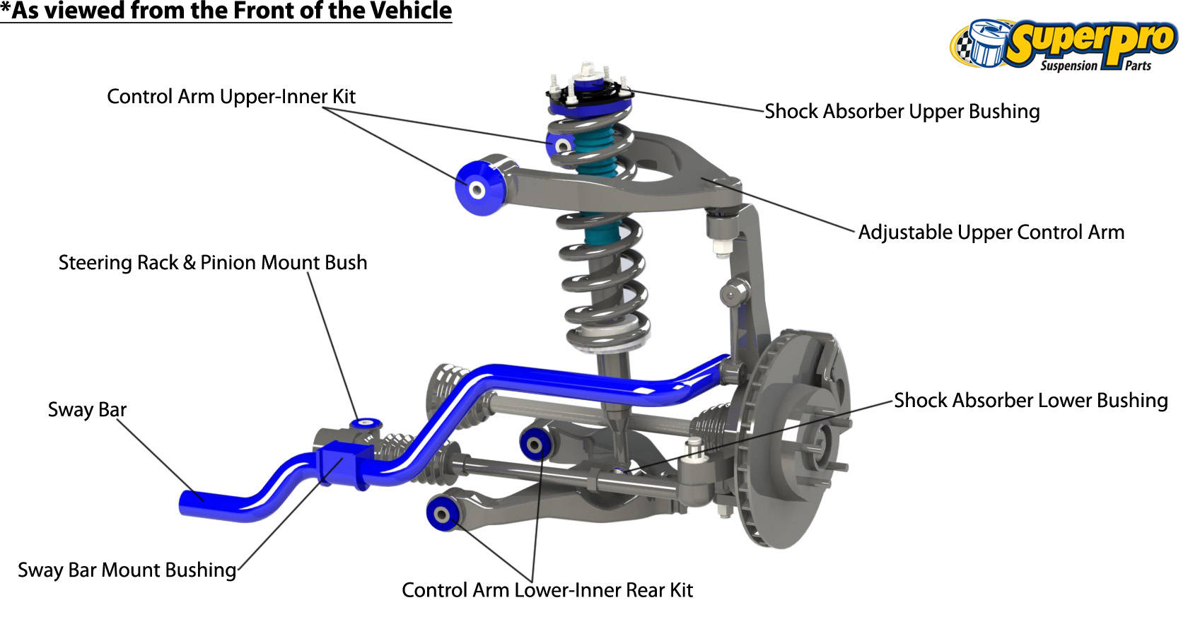 Car Suspension Diagram