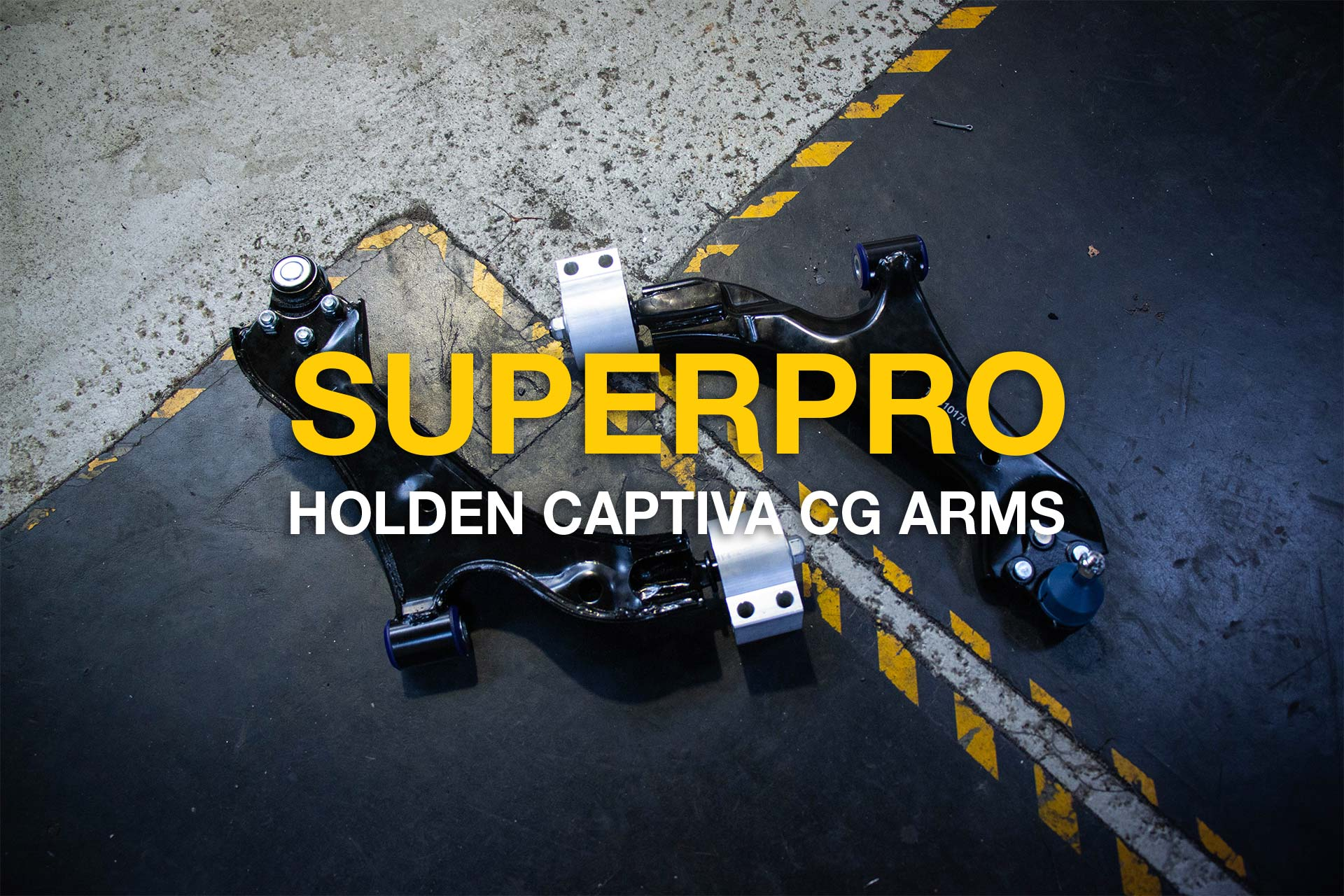 Holden Captiva CG Lower Control Arm Kit TRC1017